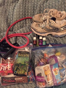 Mindset Changes with Exercise and Food while Traveling (and a few tips for traveling with littles)
